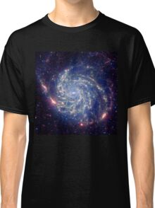 Messier 101 Spiral Galaxy Astronomy Image Classic T-Shirt