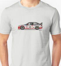 Bavarian 3 Series E36 M GTS-2 PTG Race Car Unisex T-Shirt