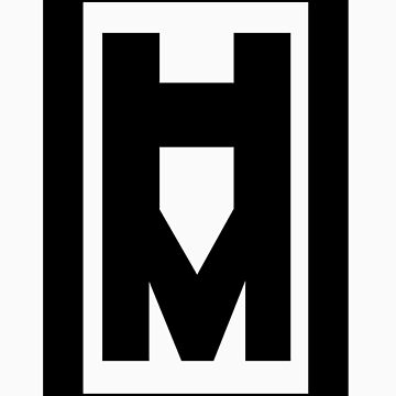 Hotman Vertical Logo Tee by hotman