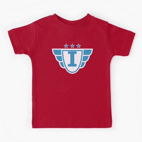 Superhero Letter I. Stars and Wings Kids T-Shirt