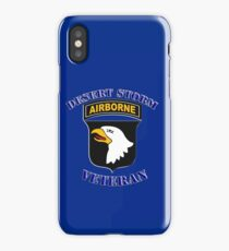 101st Airborne Desert Storm Veteran - iPad Case iPhone Case/Skin