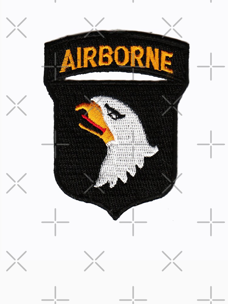101st Airborne Patch -  iPad Case by Buckwhite