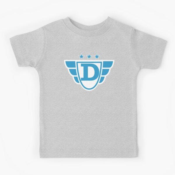 Superhero Letter D. Stars and Wings Kids T-Shirt