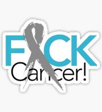 F*ck Cancer Shirt Sticker