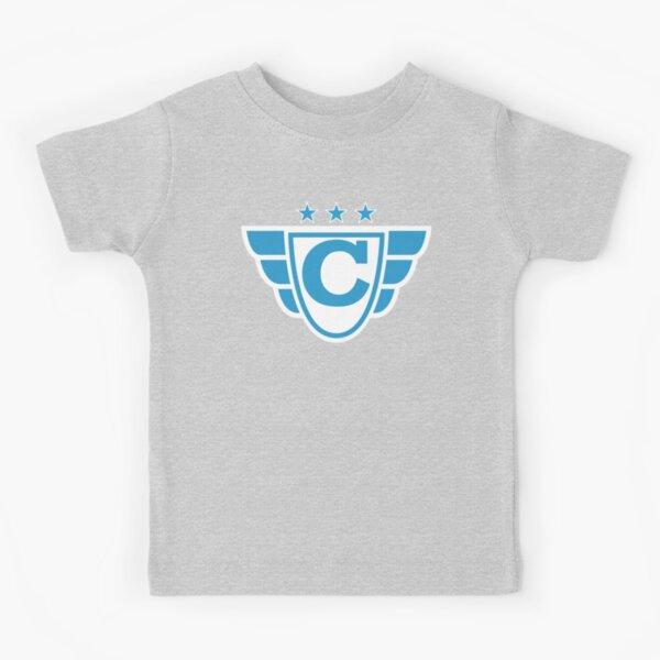 Superhero Letter C. Stars and Wings Kids T-Shirt