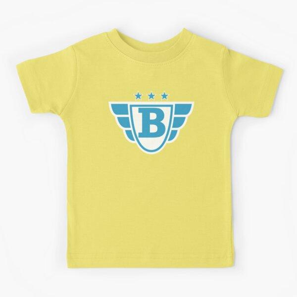 Superhero Letter B. Stars and Wings Kids T-Shirt