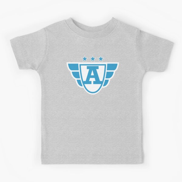 Copy of Superhero Letter A. Stars and Wings Kids T-Shirt