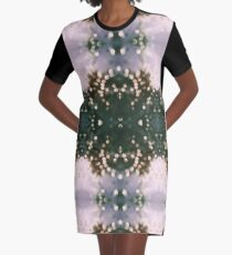 kinetic Graphic T-Shirt Dress