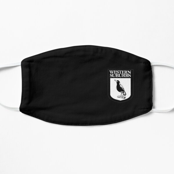 National Rugby-Magpies Flat Mask