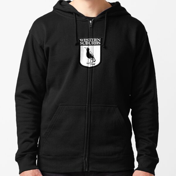 National Rugby-Magpies Zipped Hoodie