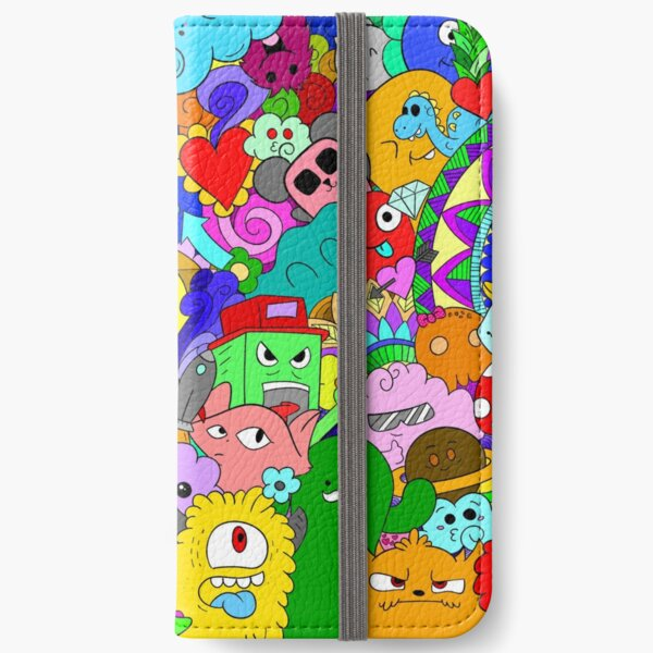 Doodles 2 iPhone Wallet