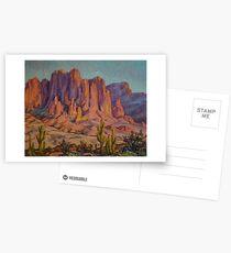 Arizona Landscape Postcards