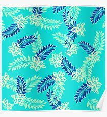 GTA Tommy Vercetti Floral Print Poster