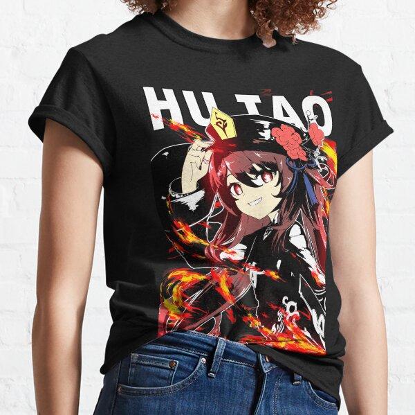 Hu Tao Genshin Auswirkungen Hutao Genshin Shirt T-Shirt Shirt Classic T-Shirt