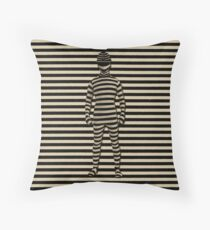 A VISION IN STRIPES CREATIVE THROW PILLOW Throw Pillow