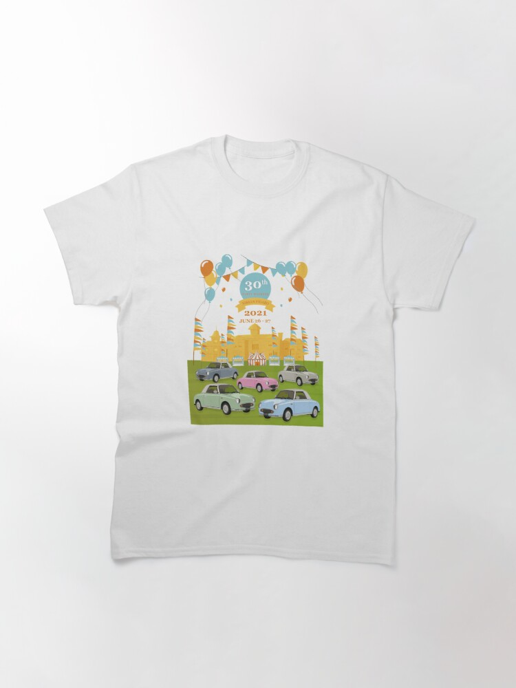 Alternate view of Nissan Figaro 30th Birthday Party T-Shirt - Design 11 Classic T-Shirt