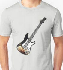 James Marsters Spike Buffy Guitar T-Shirt