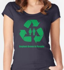 Soylent Green is People Women's Fitted Scoop T-Shirt