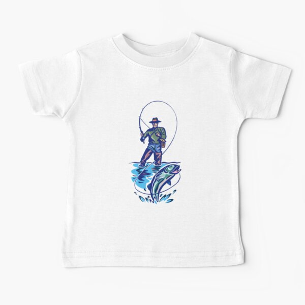 Let's Go Fishing T-Shirt Baby T-Shirt