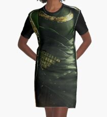 Is it tricky, looking good in green? Graphic T-Shirt Dress