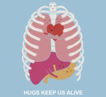 Hugs keep us alive | Unisex T-Shirt