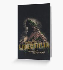 Greetings from Libertalia Greeting Card
