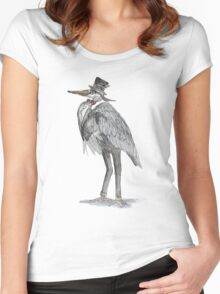 A Very Important Bird Women's Fitted Scoop T-Shirt