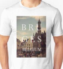 Bruges, belgium Unisex T-Shirt