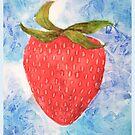 FRUIT series: Strawberry by Avé Rivera