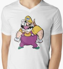 Wario Men's V-Neck T-Shirt