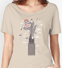 Sock Monkey Just Wants a Friend Relaxed Fit T-Shirt