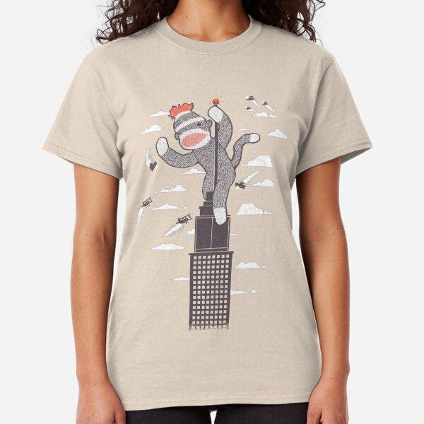 Sock Monkey Just Wants a Friend Classic T-Shirt