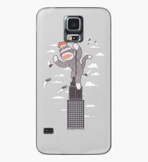 Sock Monkey Just Wants a Friend Case/Skin for Samsung Galaxy