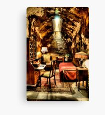 Al Capone's Cell Canvas Print