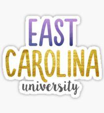 East Carolina University Sticker