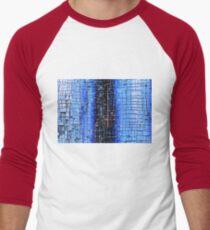 Cracked Grunge Texture Background Men's Baseball ¾ T-Shirt