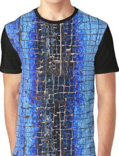 Cracked Grunge Texture Background Graphic T-Shirt