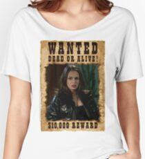 Buffy Faith Wanted Eliza Dushku Women's Relaxed Fit T-Shirt