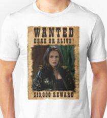 Buffy Faith Wanted Eliza Dushku T-Shirt