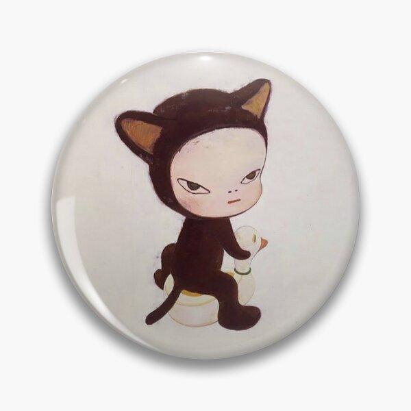 yoshitomo nara cat Pin