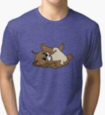 Content kitten Tri-blend T-Shirt