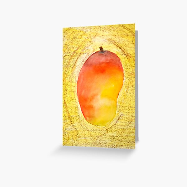 FRUIT series: Mango Greeting Card