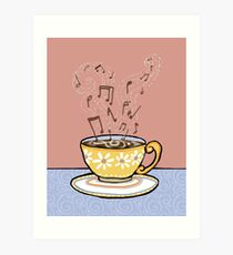 Coffee of the Day with Notes of Chocolate and Caramel  Art Print