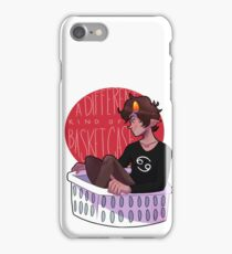 A Different Kind Of Basket Case iPhone Case/Skin