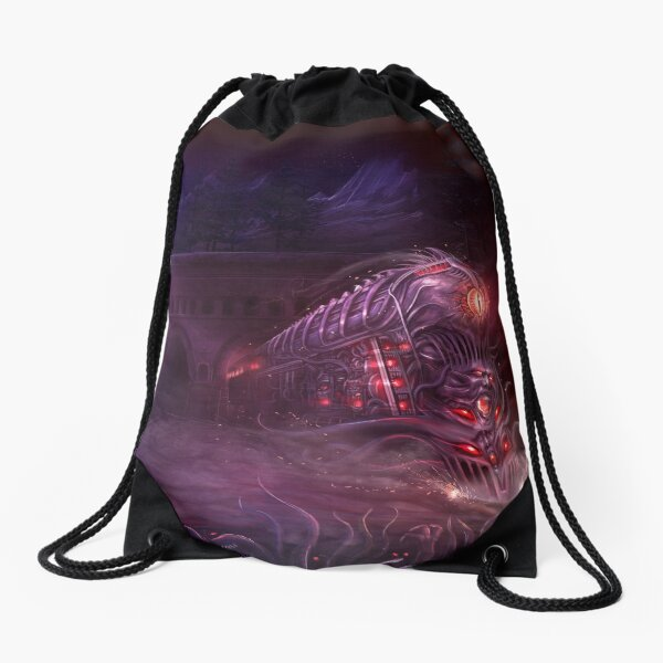 Horror on the Orient Express Vol 2 Cover Art Drawstring Bag
