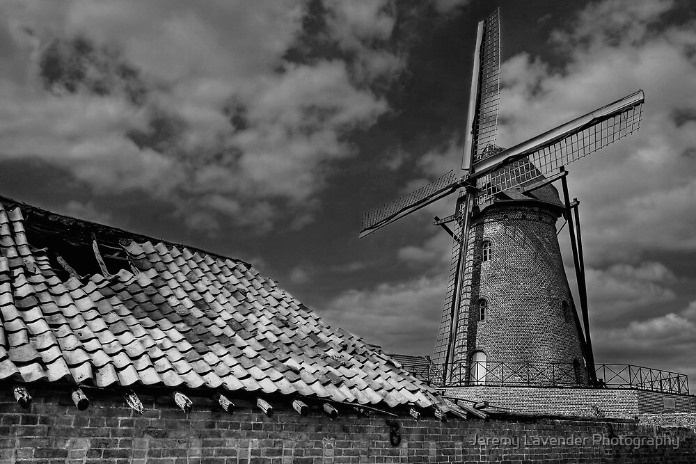 The Old Windmill by Jeremy Lavender Photography