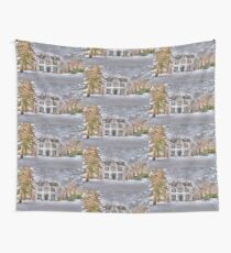 Carriage and House Wall Tapestry