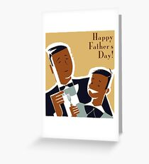 Father's Day - Dining  Greeting Card