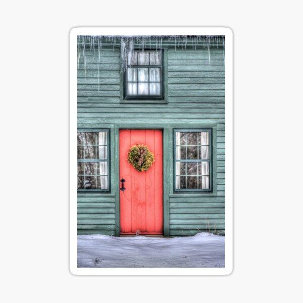 The Red Door Sticker