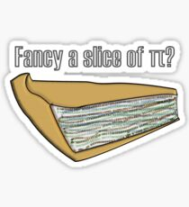Slice of Pi Sticker